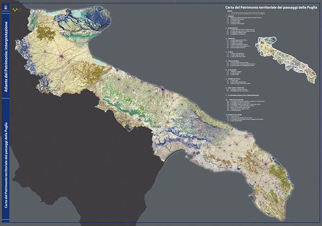Cartina Geografica Fisica Puglia.Il Patrimonio Regionale Paesaggio Sit Puglia